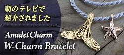 アミュレットチャーム ブレスレット テレビ紹介モデル
