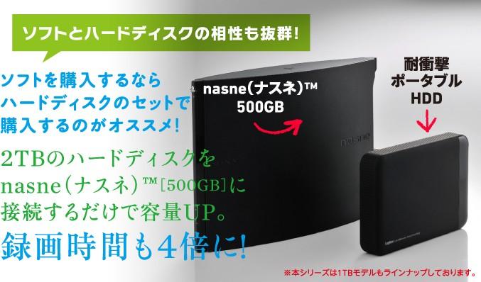 ソフトを購入するならハードディスクのセットで購入するのがオススメ!