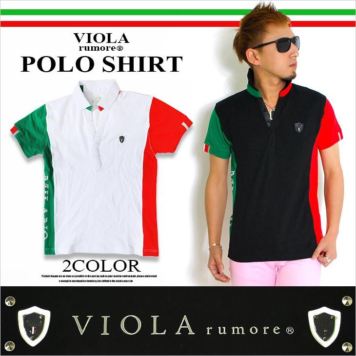 【viola】イタリアカラーポロシャツ