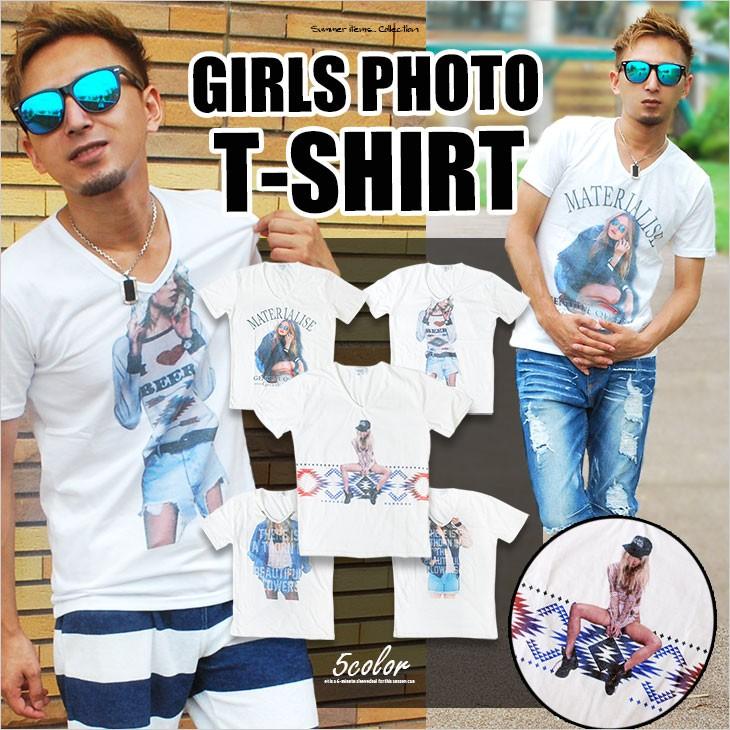 ガールズフォトTシャツ