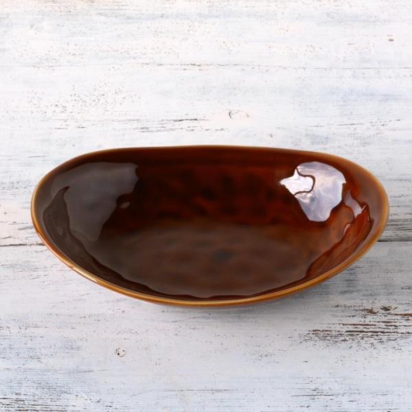 食器 和食器 パスタ カレー サラダ  おしゃれ お皿 皿 食器 プレート 陶器 美濃焼 可愛い 日本製 カレー皿&パスタ皿 24cm (全9色)|long-greenlabel|21