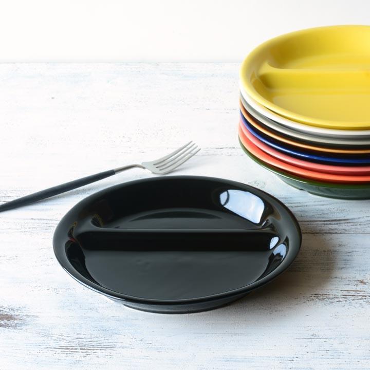 ランチプレート 丸 21cm 全9color  取り皿 おしゃれ お皿 皿 食器 プレート 陶器 美濃焼 可愛い 北欧 日本製 おうちごはん long-greenlabel 21