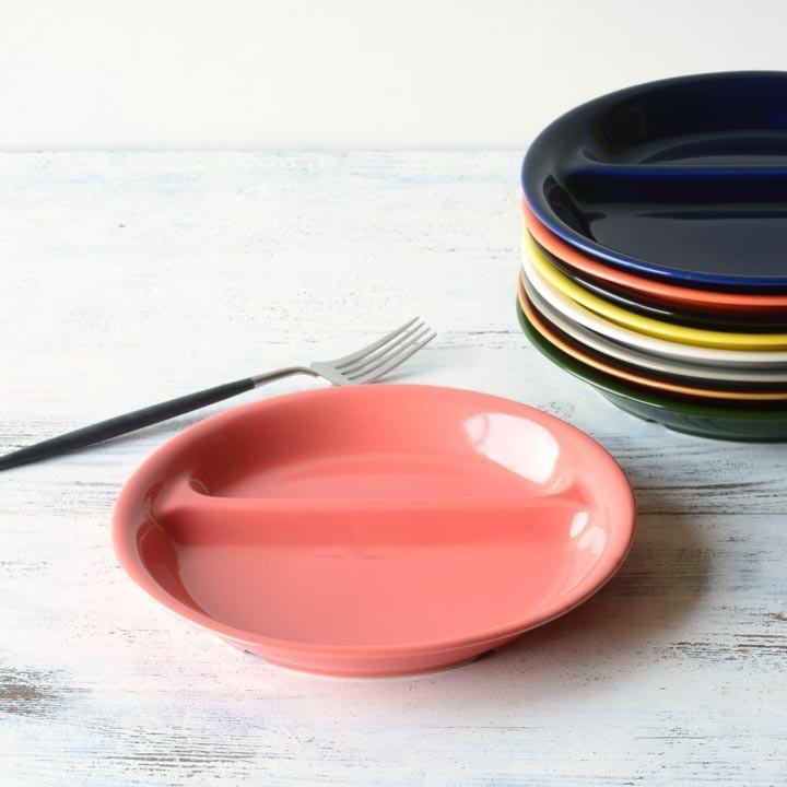 ランチプレート 丸 21cm 全9color  取り皿 おしゃれ お皿 皿 食器 プレート 陶器 美濃焼 可愛い 北欧 日本製 おうちごはん long-greenlabel 27