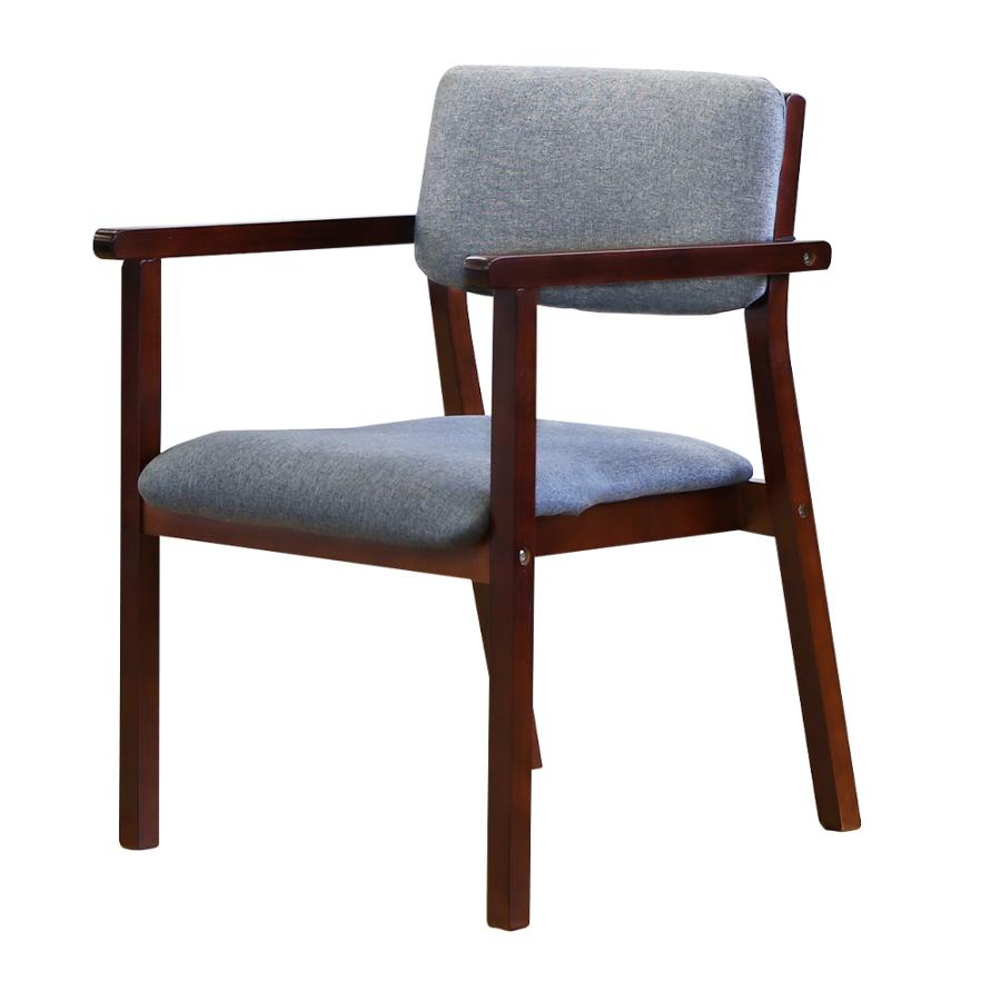 ダイニングチェア 木製 完成品 スタッキング 椅子 肘掛 肘付き レザー PVC 介護 施設 病院 北欧 おしゃれ ダイニング デザイン レトロ ウッドチェア FLEUR FLR-1|lookit|32
