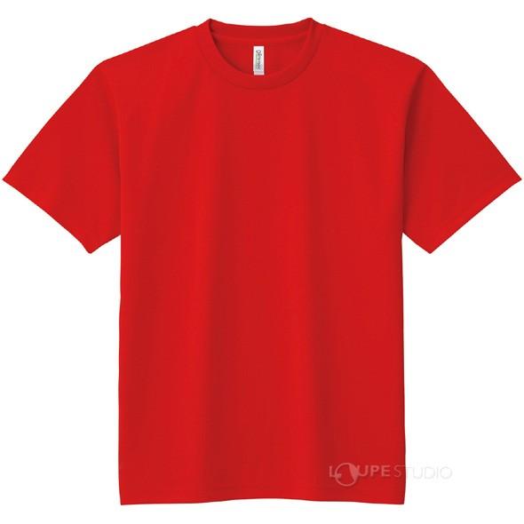 DXドライTシャツ レッド 010