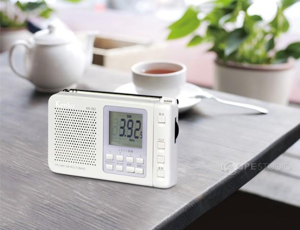 FM/AM/SW マルチバンドラジオ