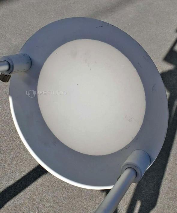 望遠鏡への取付方法:太陽投影板100