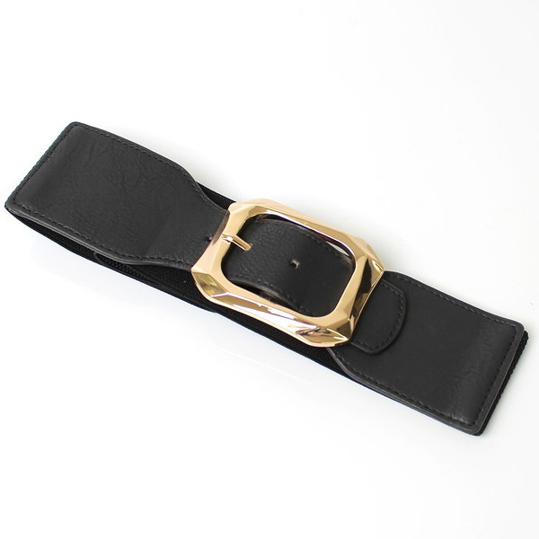 ベルト レディース 太 ベルト ゴム レディース ファッション ゴムベルト レディース パーティードレス 通販 2本セットで割引価格|lovegal|19
