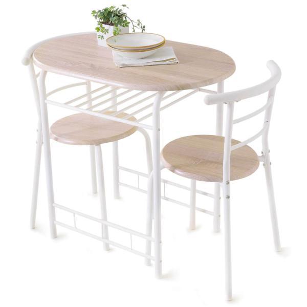ダイニングテーブルセット 3点 2人用 チェア 食卓 おしゃれ カフェ スタイル ロウヤ LOWYA|low-ya|22