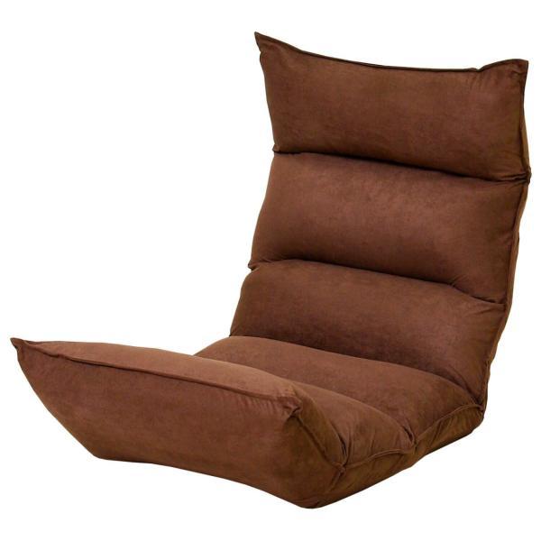 座椅子 リクライニング 低反発 ハイバック おしゃれ 一人掛け 42段ギア 1億円座椅子 座いす リラックスチェアー ロウヤ LOWYA|low-ya|24