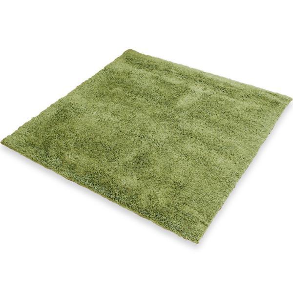 ラグマット ラグ おしゃれ 洗える ウォッシャブル カーペット 絨毯 夏 冬 Mサイズ 正方形 長方形 円形 丸型 マイクロファイバー 2畳 秋冬 ロウヤ LOWYA|low-ya|23