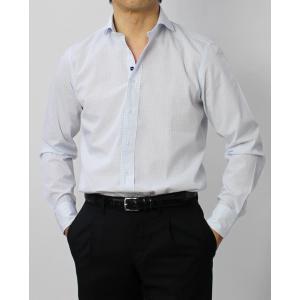 ラルディーニ / LARDINI / EGCIRO / コットン グラフチェック柄 セミワイドカラーシャツ / セール / 返品・交換不可 luccicare 11