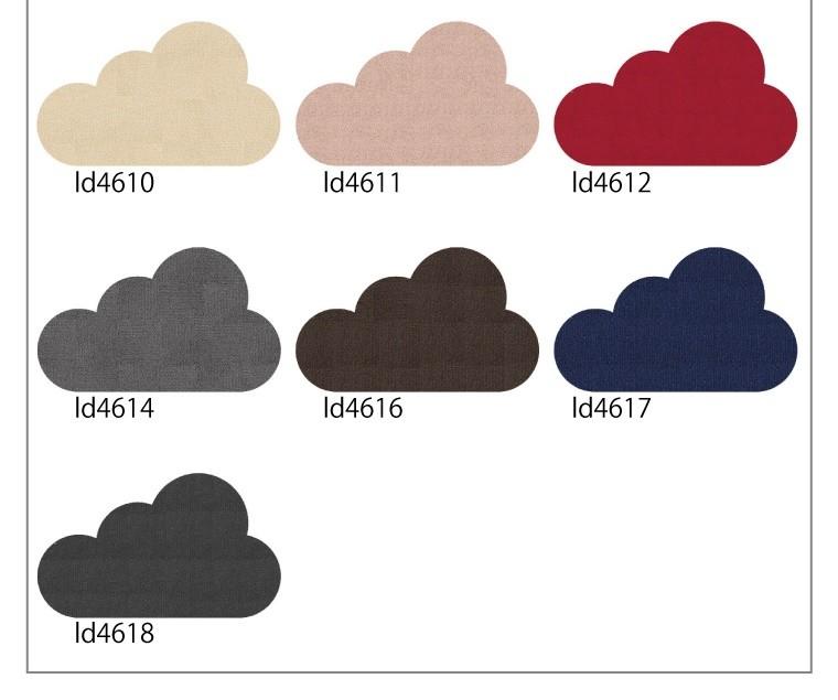 変形ラグマットサイズオーダー(変形雲形E)