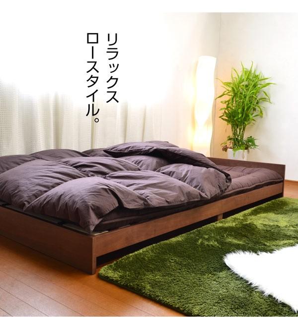 ベッド すのこベッド シングルベッド レノン2
