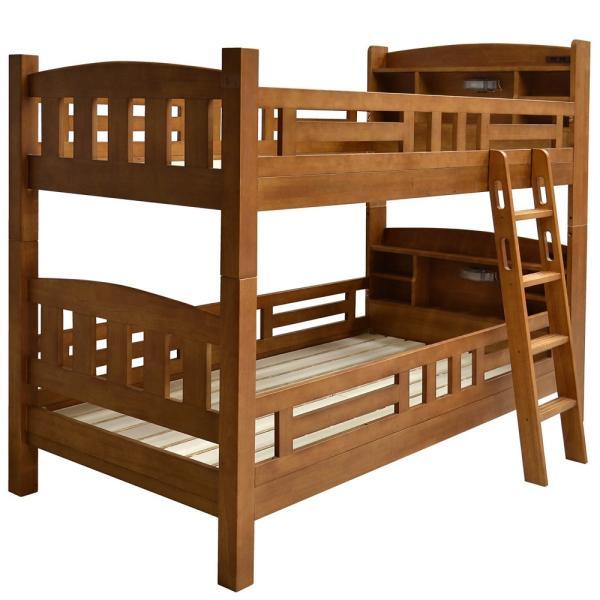 二段ベッド 2段ベッド 宮付き コンセント・LED照明付き プリウス5(本体のみ)-ART 木製 子供 すのこ シングル対応 ツイン 大人用 PRIUS ラッキーベッド|luckykagu|17