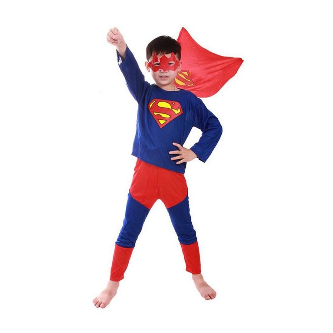 スパイダーマン バットマン スーパーマン コスプレ キッズ