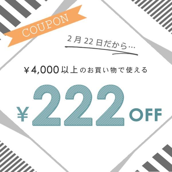 猫の日♪ニャンニャンニャン☆222円OFFクーポン!