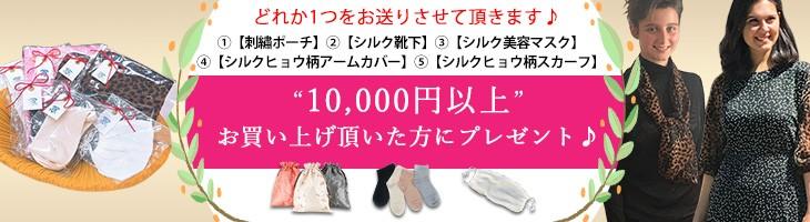1万円以上購入のお客様にプレゼント♪