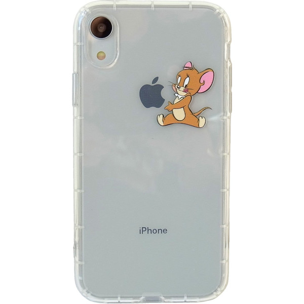 トムとジェリー iPhoneXR クリアケース アイフォンケース lupo 08