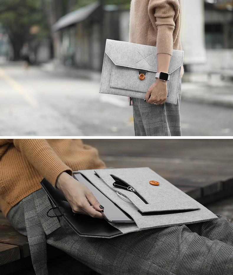 MacBookフェルトケース4