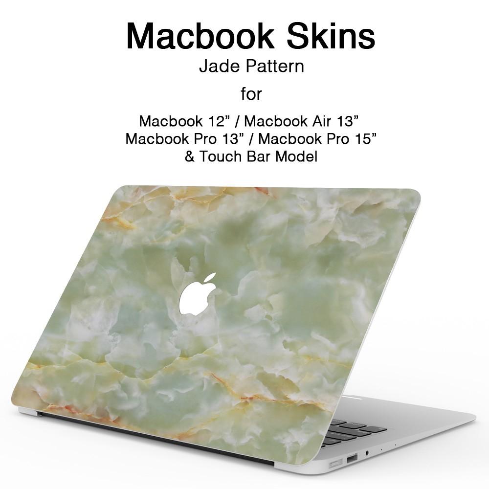 MacBookスキンシール翡翠1