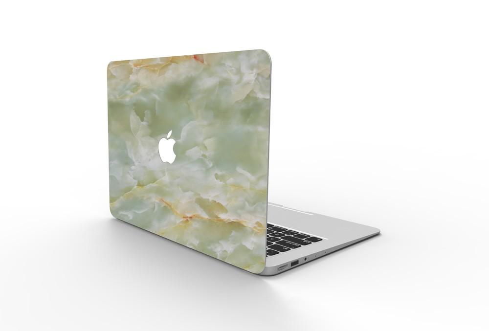 MacBookスキンシール翡翠5