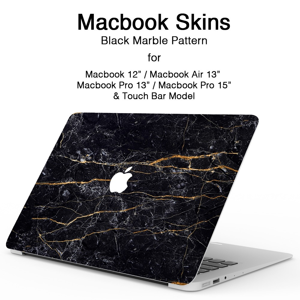 MacBookスキンシール大理石1