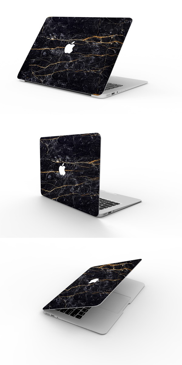 MacBookスキンシール大理石2