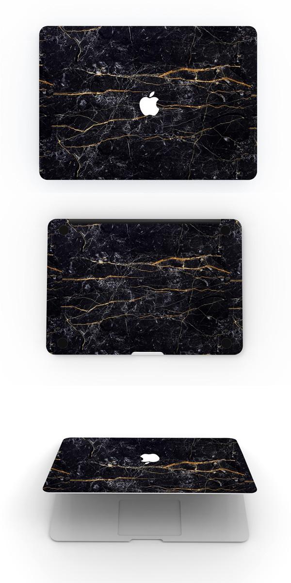 MacBookスキンシール大理石3