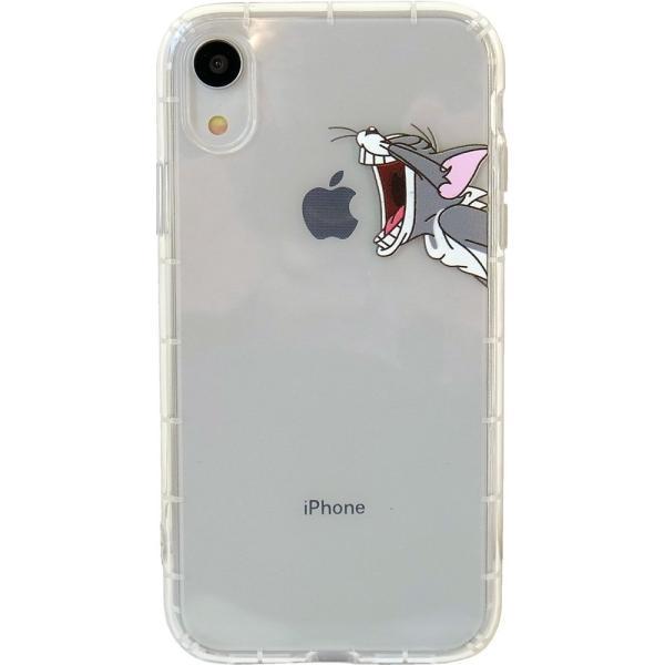トムとジェリー iPhoneXR クリアケース アイフォンケース lupo 07