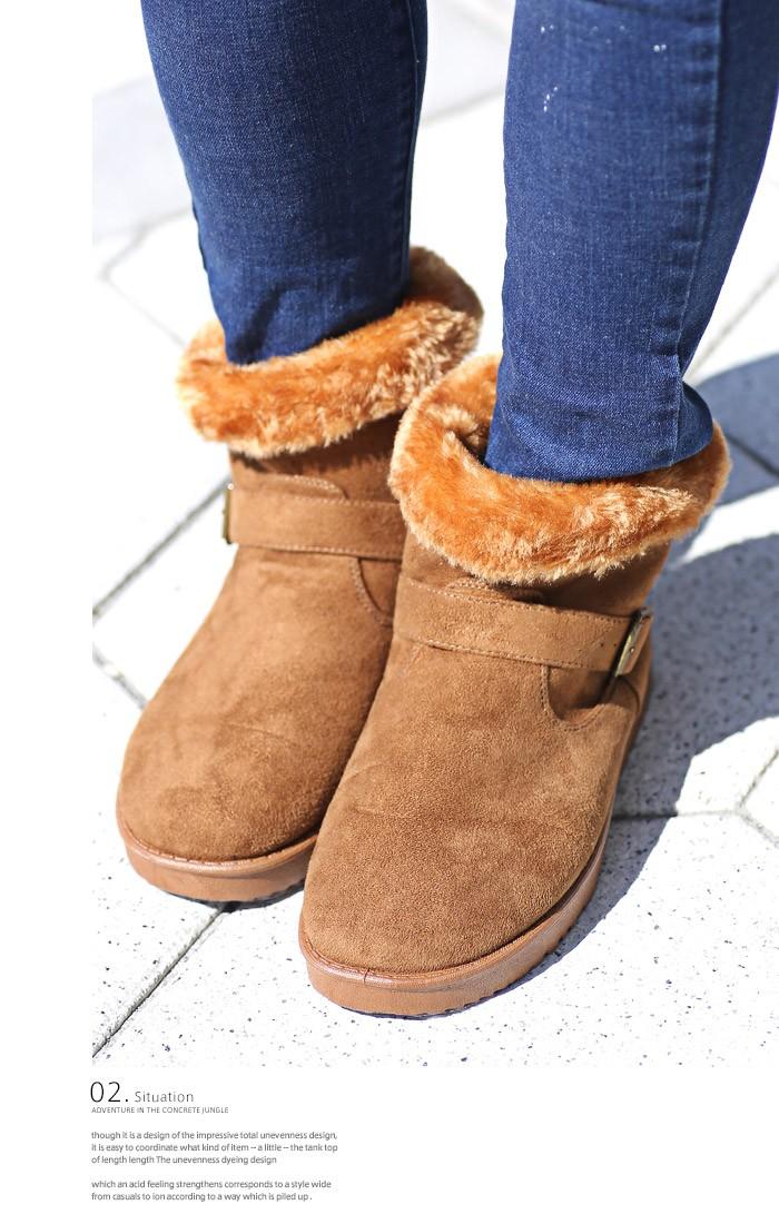 BITTER ビター系 ムートンブーツ メンズ 靴 ブーツ ムートン エンジニアブーツ ショートブーツ ボア ファー シューズ スウェード フェイク カモフラ 迷彩 カモ柄 デニム お兄系 ファッション 5