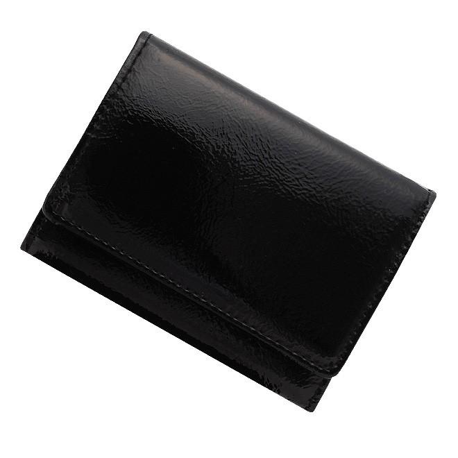 極小財布 エナメル×スムース/牛革 日本製 \12,000(税抜)