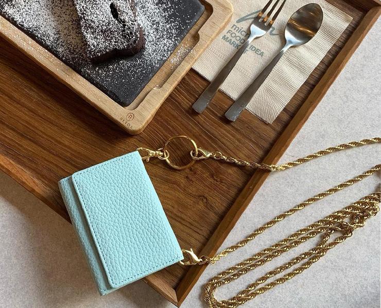 BECKER(ベッカー)極小財布 Boxタイプ パステルカラー キャッシュレスにBECKERミニ財布♪