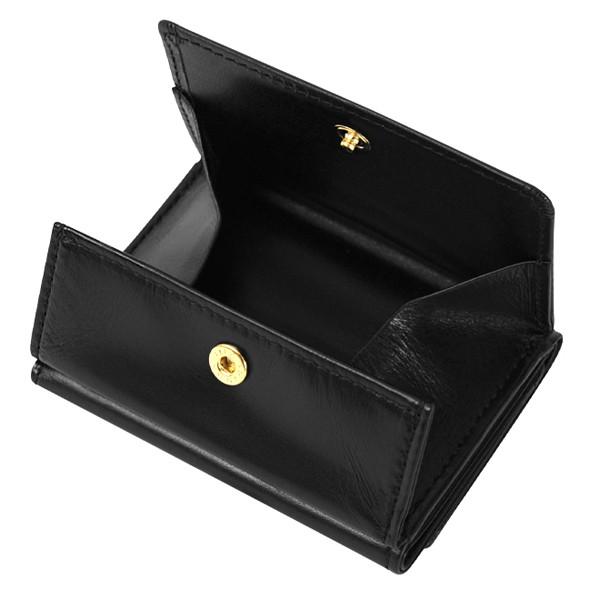 極小財布 ボックス型 スムース/牛革 ブラック 15,000(税込)