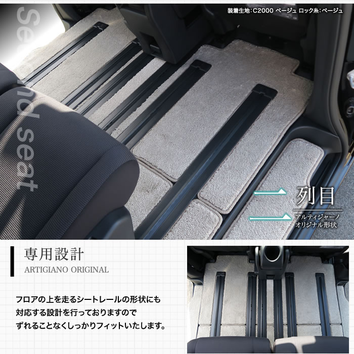 NISSAN(日産) セレナC27 フロアマットセット