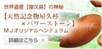 天然記念物屋久杉×パワーストーン