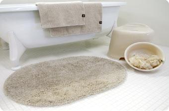 バスルームをトータルコーディネート