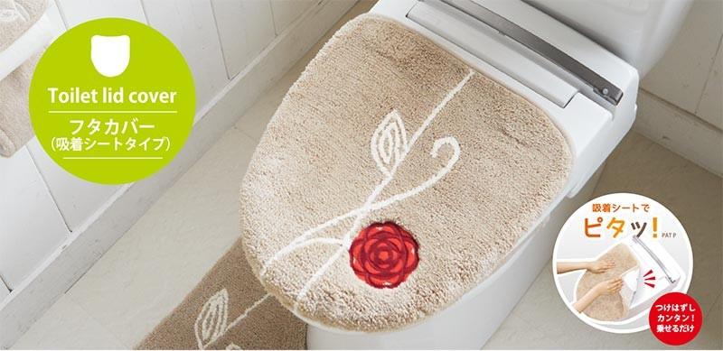 エトフ トイレフタカバー 洗浄・暖房専用 吸着式