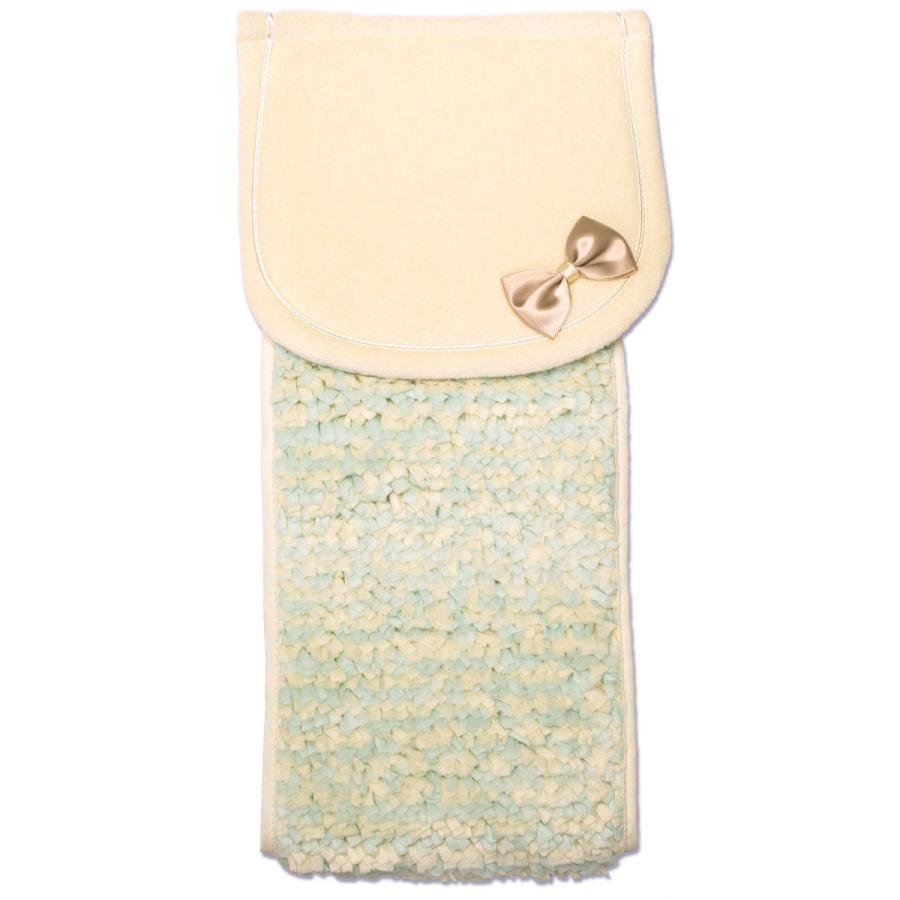 トイレットペーパーホルダーカバー PLYS プリス シェリールスフレ フリル おしゃれ かわいい トイレ用品 ふわふわ  オカ m-rug 09