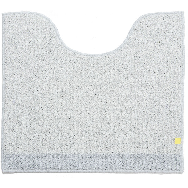トイレマット (約55×60cm)プラット (おしゃれ 無地 グレー プレーン ふかふか シンプル) オカ|m-rug|12