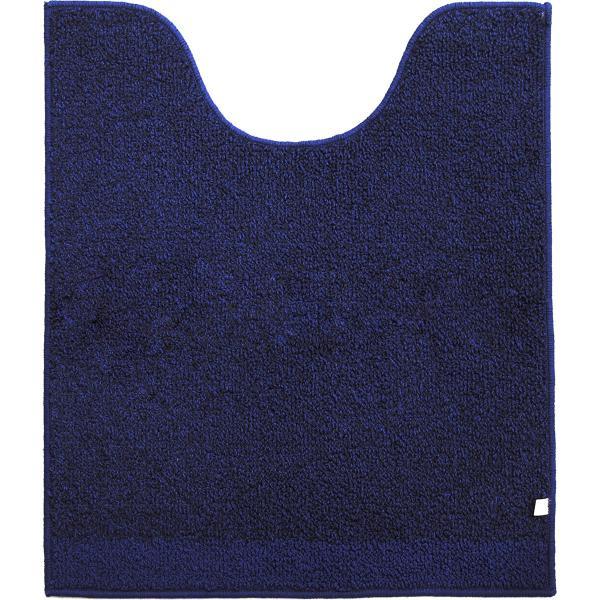 トイレマット (約75×63cm)プラット (おしゃれ 無地 グレー プレーン ふかふか シンプル) オカ|m-rug|13