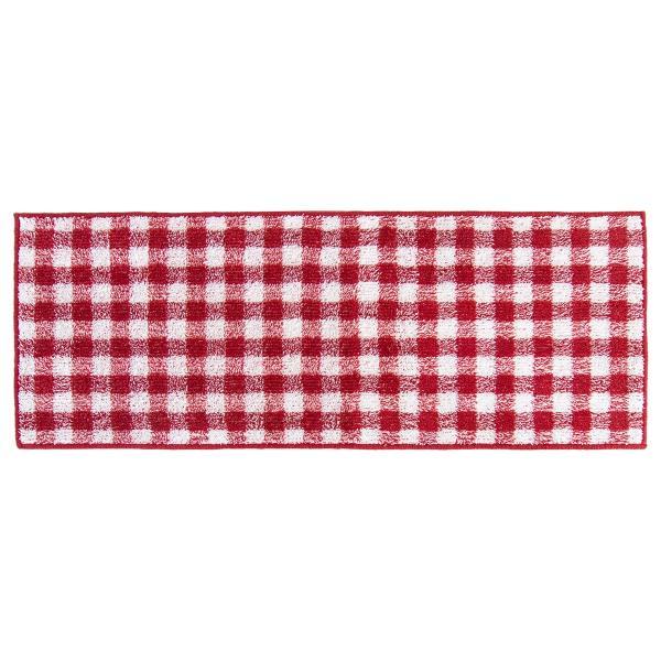 キッチンマット 約120cm×45cm ギンガムチェックキッチンマット(洗える おしゃれ チェック かわいい) オカ|m-rug|16