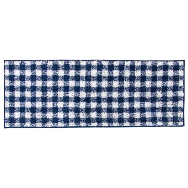 キッチンマット 約120cm×45cm ギンガムチェックキッチンマット(洗える おしゃれ チェック かわいい) オカ|m-rug|17
