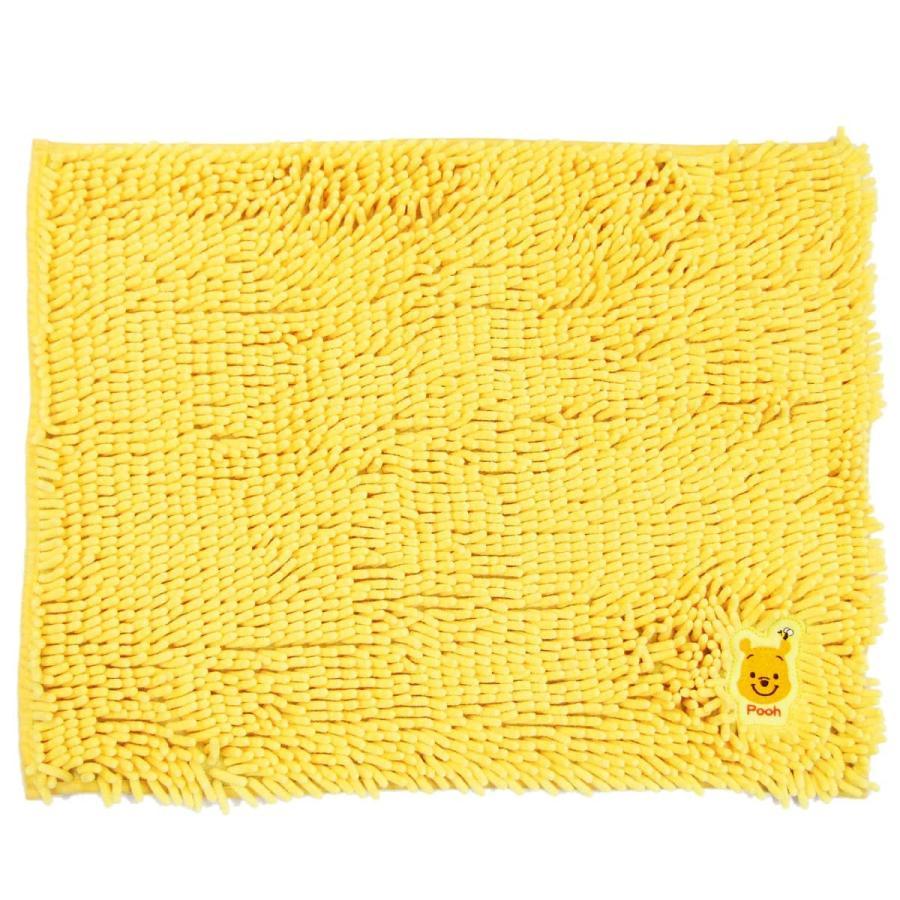 バスマット モール マット ディズニー モールバスマット 約45×60cm マイクロファイバー ディズニー ミッキー ミニー くまのプー disney  オカ m-rug 19