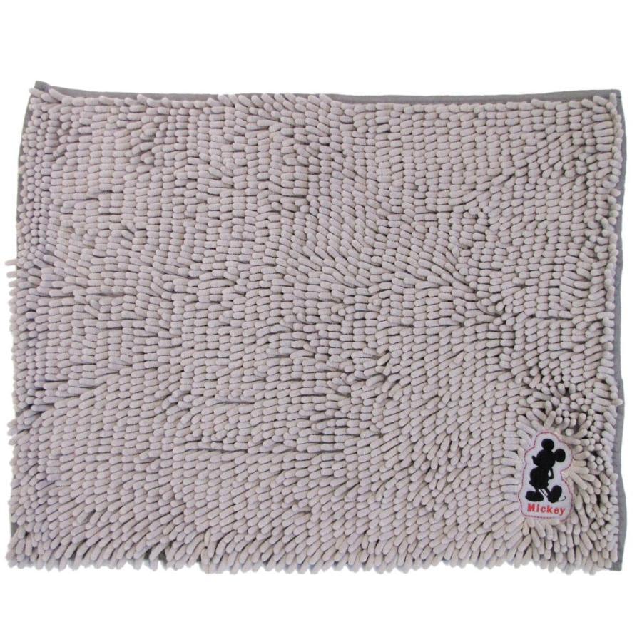 バスマット モール マット ディズニー モールバスマット 約45×60cm マイクロファイバー ディズニー ミッキー ミニー くまのプー disney  オカ m-rug 17
