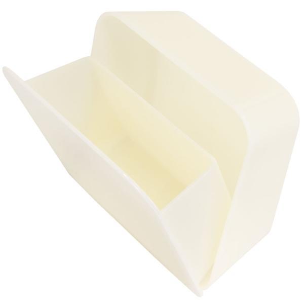 ゴミ箱 PLYS base (プリスベイス) 洗面ゴミ箱 小さい 壁 貼り付けられる マジックテープ クリア 小さめ グッドデザイン賞 m-rug 13