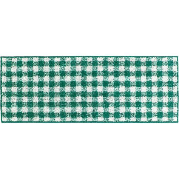 キッチンマット 約120cm×45cm ギンガムチェックキッチンマット(洗える おしゃれ チェック かわいい) オカ|m-rug|18
