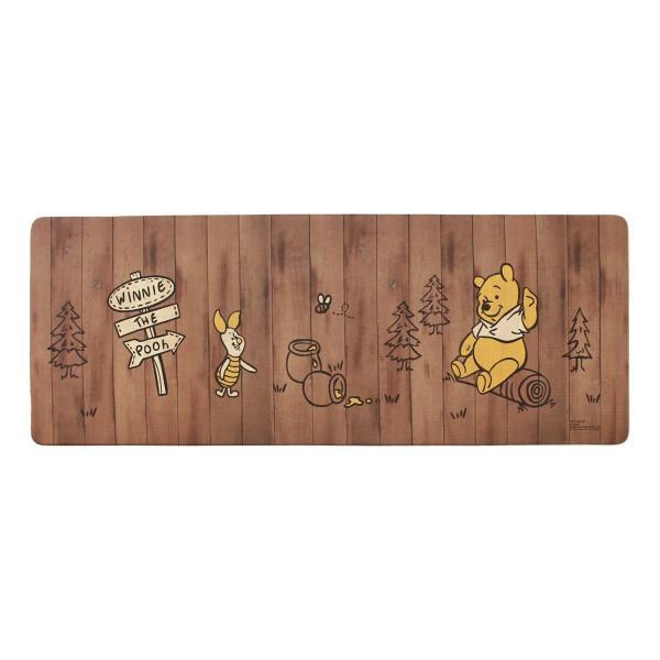 キッチンマット ディズニー 拭いてお手入れするキッチンマット 約45×120cm(拭ける ふける ミッキーマウス プーさん トイストーリー ミニーマウス) オカ|m-rug|17