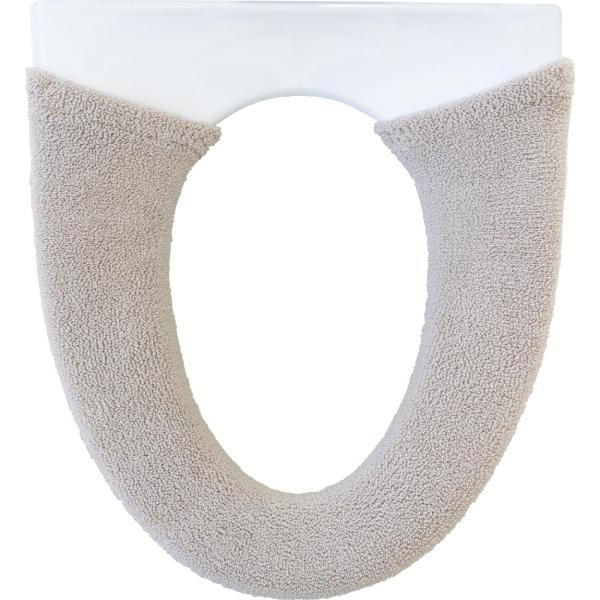 便座カバー (洗浄暖房型 ソフトホックタイプ)   シェニールロゼ (ウォシュレット トイレカバー 便座 洗える 洗濯可) オカ|m-rug|15