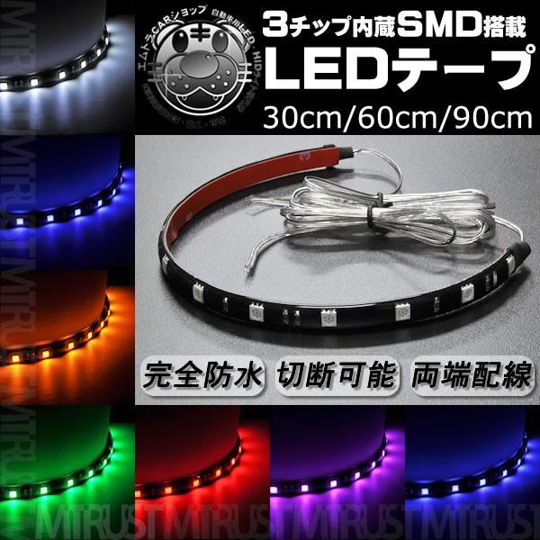 3チップ内蔵LEDテープ